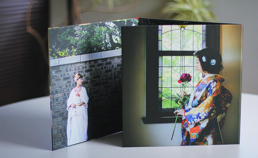 結婚式前撮り写真台紙