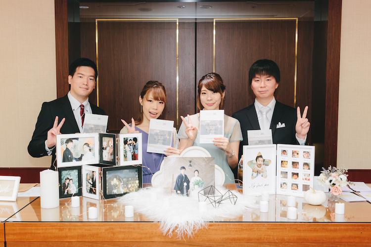 結婚披露宴ヒルトン東京スナップ写真